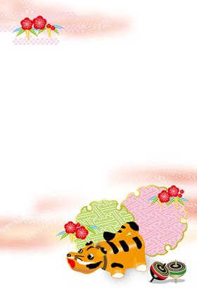 サンプル 張子(赤)-6